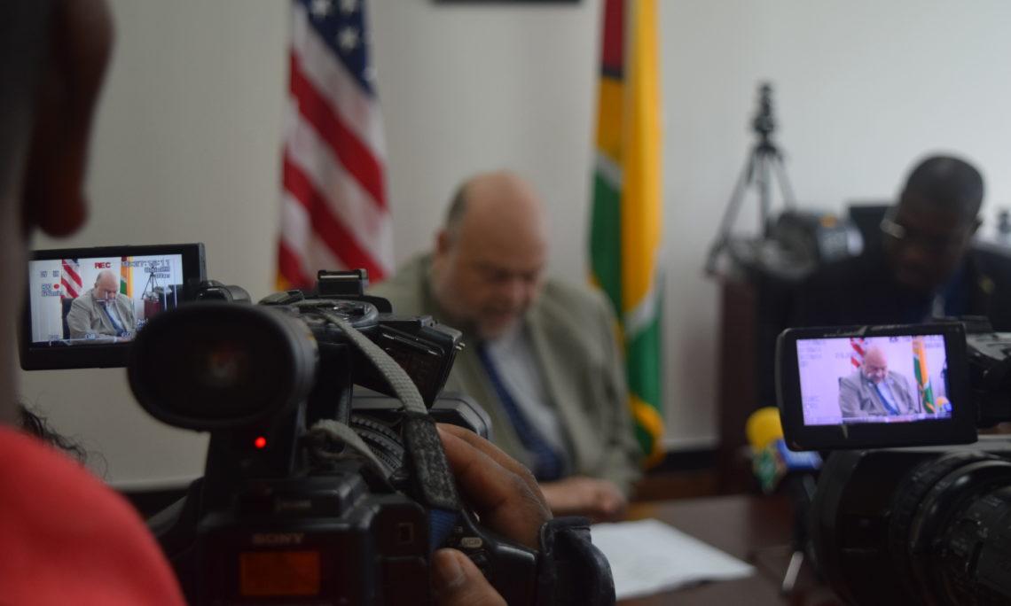 Ambassador Holloway delivers remarks