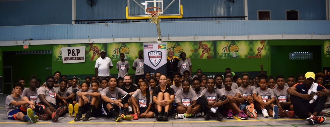 NBA Sports Envoy Program holds Sports Clinic